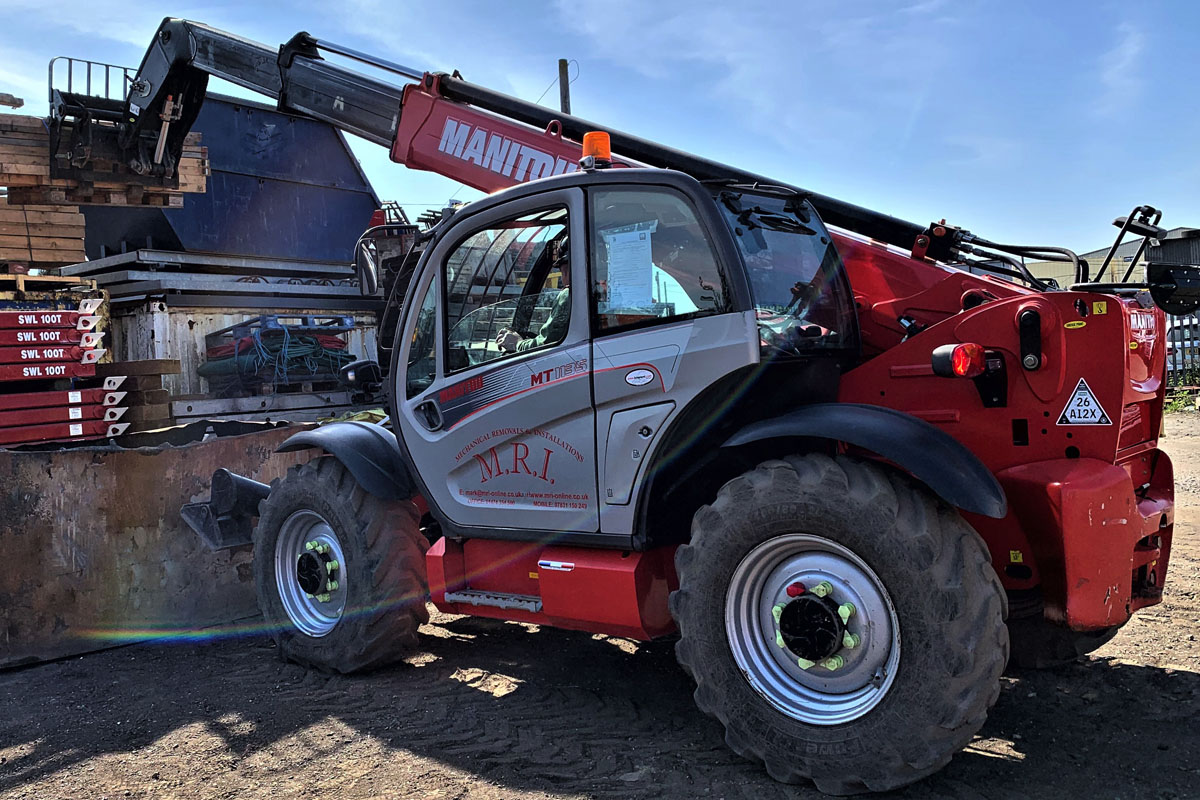 MRI-Forklift Truck