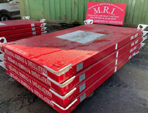 New crane mats have just arrived