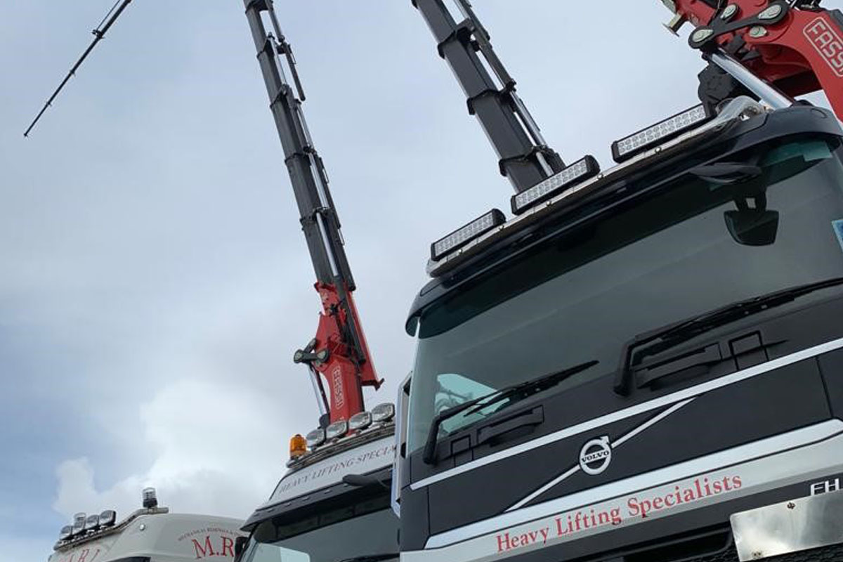 MRI Services Transport & HIAB Hire