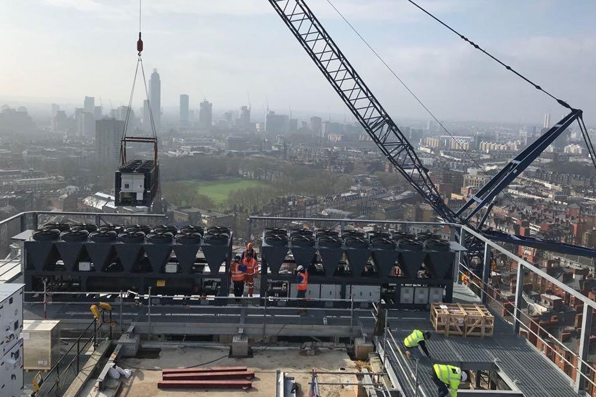 MRI Services Contract Crane Lifts